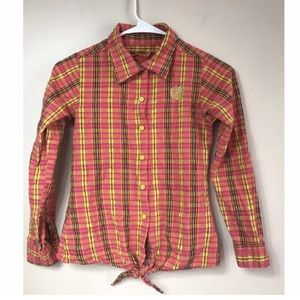 Apple Bottoms Pink and yellow 14/16 Shirt